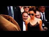 Victoria Beckham's Sexy Slip Dress at Wimbledon | Celebrity Style | Fashion Flash