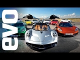 evo Car of the Year 2012 – feat. Pagani Huayra v McLaren and more. In association with Michelin.