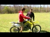 Channel 91: Jon's EPIC Dirt Bike Fail!