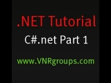 .NET Tutorial : Object Oriented Programming using C# Part 1 for Beginners – Introduction