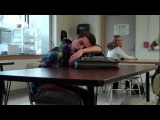 Teacher pranks sleeping student