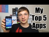 My Top 5 iPhone/iPod Touch Apps 2013