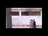 Syrian War 2013   Syrian Rebels Raw Street Gunfight With Assad Military Graphic Footage)