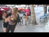 2 Ratchet White Chicks Caught Fighting In San Jose,Ca