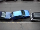Epic parallel parking fail!