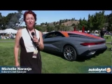 New & Old Bertone Nuccio Concept Car and the Alfa Romeo BAT 11dk at the 2012 Concorso Italiano