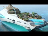 Luxury Yacht With Private Tropical Island