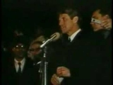 Robert Kennedy announces death of Martin Luther King, Jr.