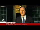 SEE! Royal baby Born   David Cameron comments after Royal birth   22 07 2013