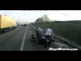 The World's Luckiest Motorcyclist