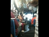 MAD MAN PON DI BUS! ONLY IN BROOKLYN!!!