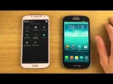 Samsung Galaxy S4 Android 4 3 vs  Samsung Galaxy S3   Review