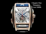 Top 11 Bejeweled And Most Expensive Watches