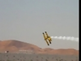 Crazy Yellow PLane Stunt Pilot (2)