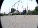 Fat Boy Falling Off Swing Video