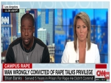 Ex NFL Player Wrongly Accused of Rape Discusses White Privilege In Brock Turner Case