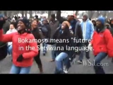 South Africans Celebrate Inauguration