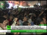 CAIRO STREET FIGHTS: Egypt face divisive choice over political FUTURE.
