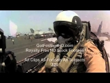 POV: US Navy F-18 Pilot Performing a Carrier Landing by GotFootageHD.com