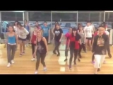 Blurred lines by robin thicke hip hop dance routine at macq