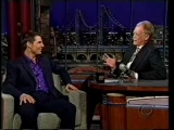 Tom Cruise's HILARIOUS interivew on Letterman (part 3)