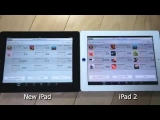 The Aplple  ipad vs ipad 2 on appstore  with latest update beatingios 7 feature installed review