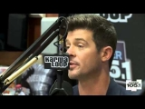 Robin Thicke Interview At The Breakfast Club Power 105 1
