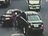 Weird News _ Dad Rams Into Son's Car, Chases Him On Foot