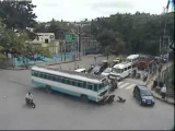 live accidents in bangalore city by care less driving