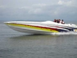 90+++ MPH Cigarette Racing Boat Poker Run