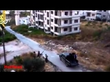 Syria War 2013 – Massive Syrian Military Air Strike on Free Syrian Army Graphic War Footage 18+