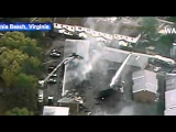 US Navy F-18 crashes in residential area in Virginia Beach  4/6/2012