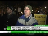 Wall St. to Capitol Hill: 'Occupy' takes rage to Congress