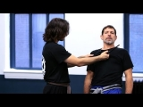 How to Defend Against a Knife to the Throat | Krav Maga Defense