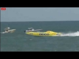 Cocoa Beach 2013 Power Boat Racing Last 5 laps