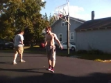 AMAZING TRICK SHOT CAUGHT ON TAPE!!!