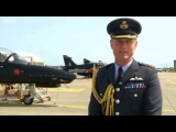BBC News   RAF Anglesey colleagues congratulate William and Kate