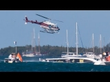 Super Powerboat 'Semper Fi' gets ready, races,crashes