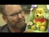Naughty FAIL POOH DISNEY Epic Fail Toy Funny Video Review by Mike Mozart of JeepersMedia