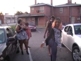 AUNT T JACKIE FIGHTING A HOOD CHICK OVER TREY SONGZ