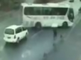 Amazing Bus Accident