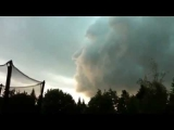 OMG!!!  FACE IN SKY!! SCARY 2011 Phenomenon!!!!  WEIRD EVENT!!