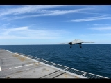 US Navy – X-47B UCAS First Carrier-Based Launch From USS George H.W. Bush (CVN 77) [1080p]