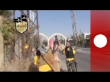 Syria amateur video: Violent clashes as rebels fight Assad forces in Damascus