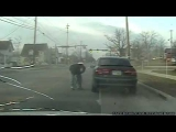 Graphic Police Shootout Caught On Camera