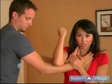 Self Defense Tips & Techniques for Women : How to Get Out of a Front Choke in Women's Self Defense